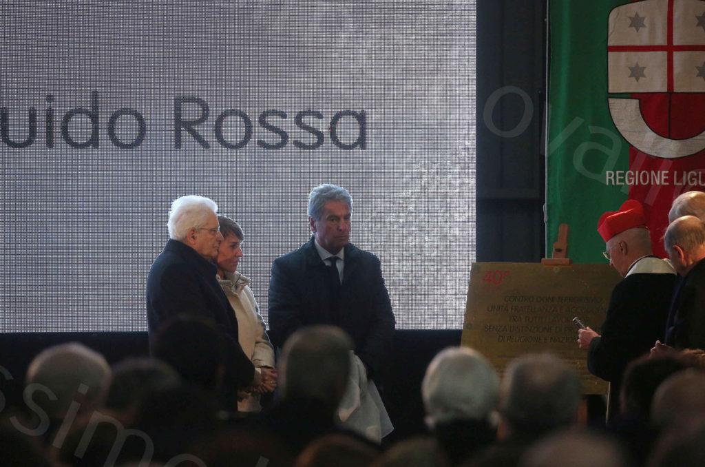 23/01/2019, Genova, Ex Ilva ArcelorMittal, Commemorazione di Guido Rossa nel 40° dalla scomparsa
