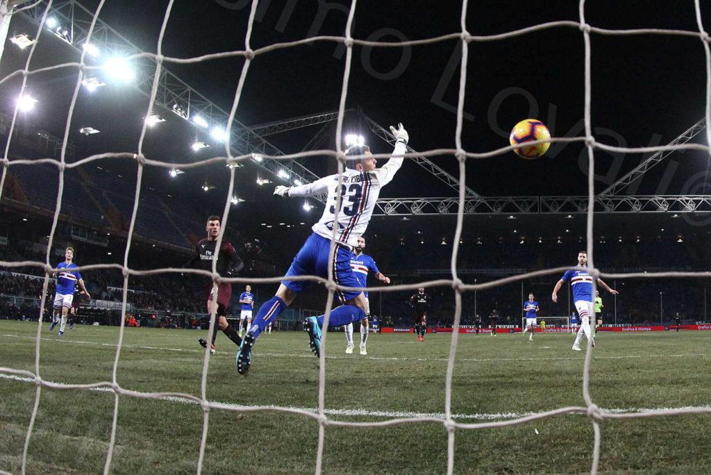 12/01/2019, Genova, Coppa Italia, Sampdoria-Milan