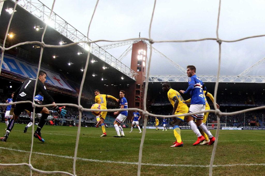 10/02/2019, Genova, Campionato di Calcio di Serie A 2018-2019, Sampdoria-Frosinone