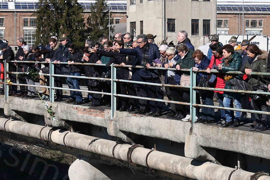 14/02/2019, Genova, Commemorazione delle 43 vittime del crollo del Ponte Morandi