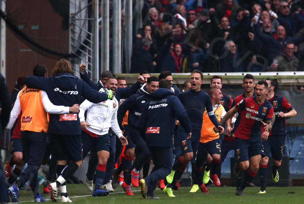 17/02/2019, Genova, Campionato di Calcio di serie A 2018-2019, Genoa-Lazio