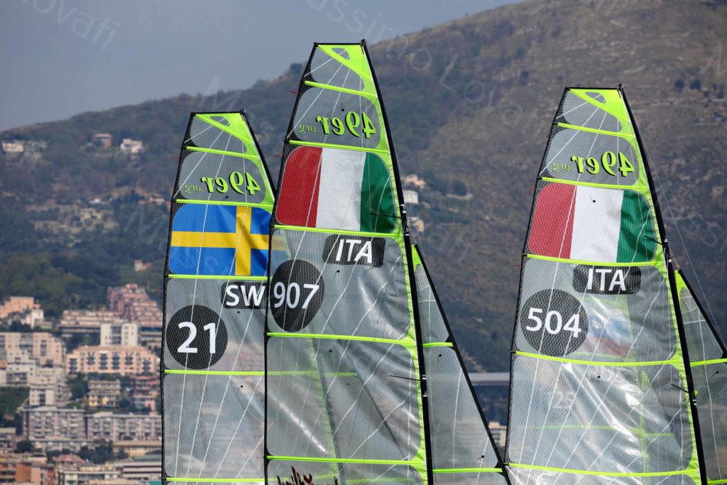 17/04/2019 Genova,Hempel World Cup Series , Classe 49ers