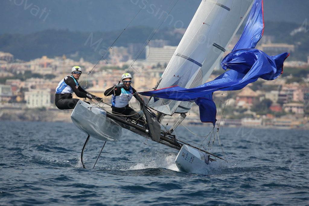 19/04/2019, Genova, Hempel World Cup Series, Classe Nacra17