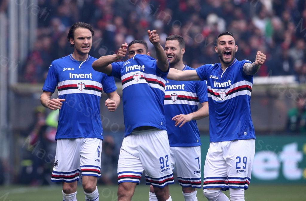 14/04/2019, Genova, Campionato di Calcio di Serie A 2018/19, Sampdoria-Genoa