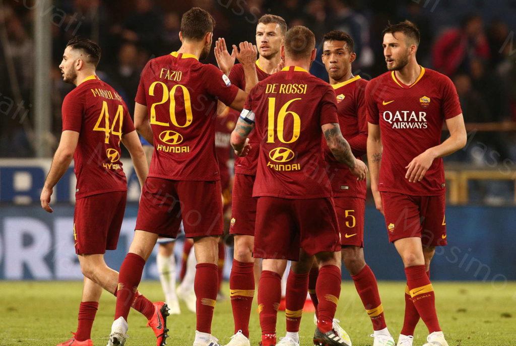 06/04/2019, Genova, Campionato di Calcio di Serie A 2018/2019, Sampdoria-Roma