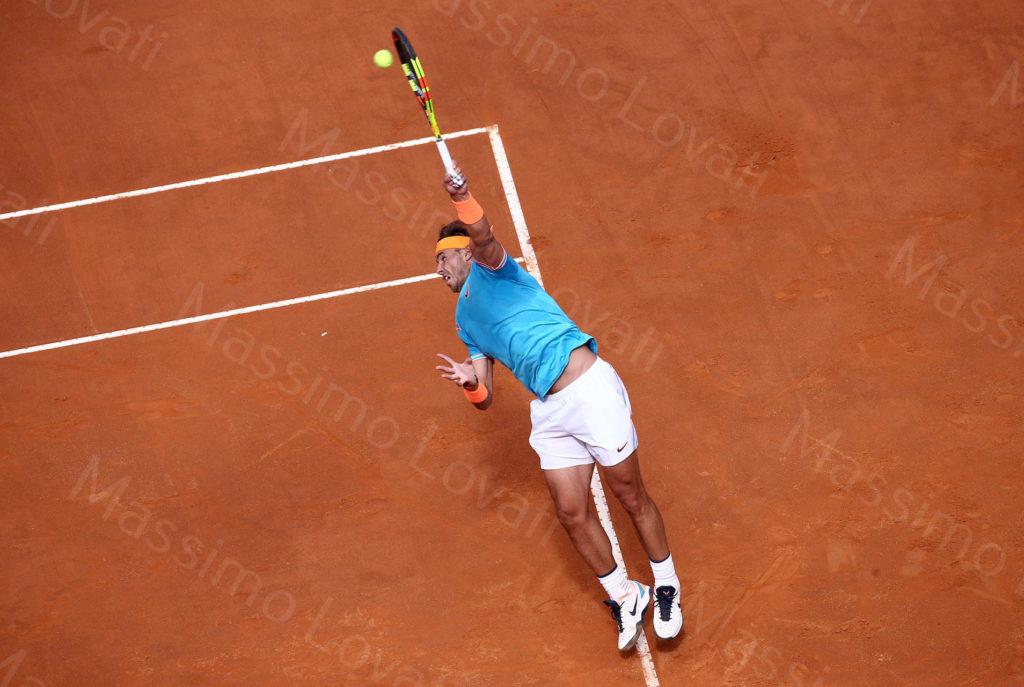 19/05/2019, Roma, Internazionali BNL d'Italia 2019, Finale maschile, Novak Djokovic – Rafael Nadal