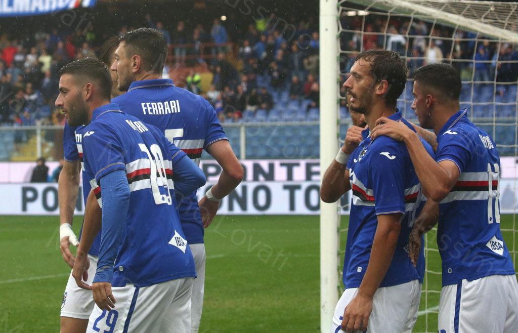 22/09/2019, Genova, Campionato di Calcio di Serie A 2019/2020, Sampdoria-Torino