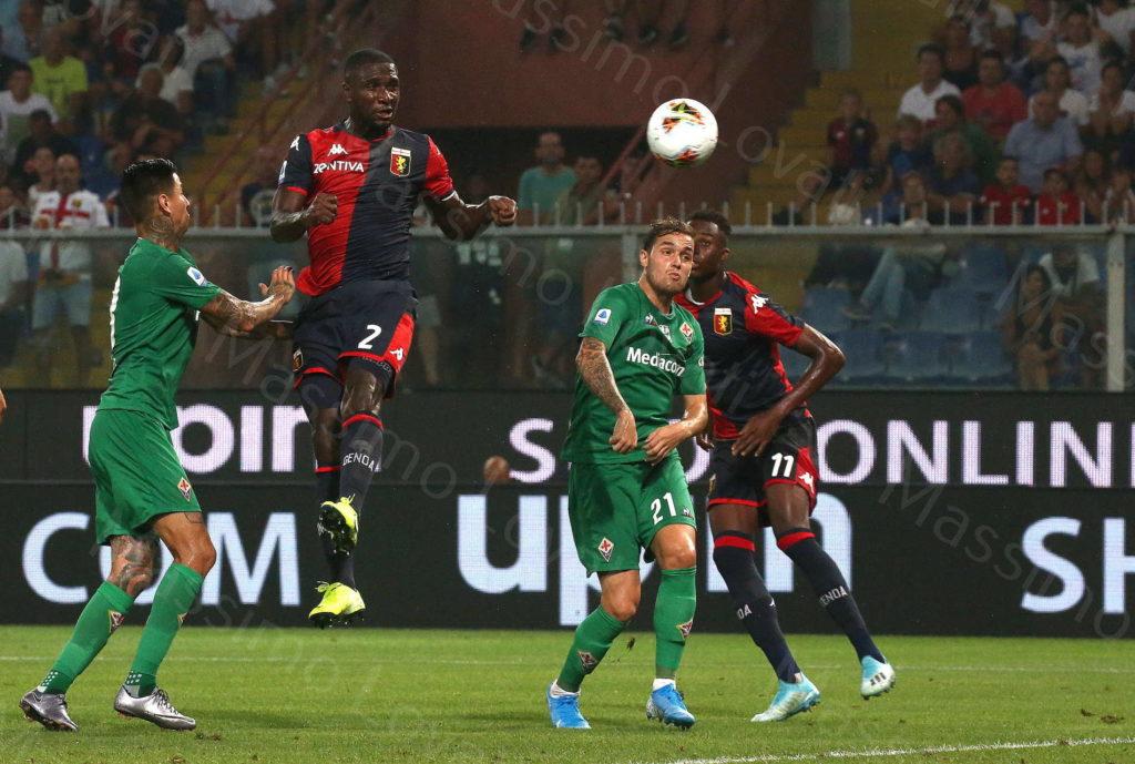 01/09/2019 ,Genova, Campionato di Calcio di Serie A 2019/2020, Genoa- Fiorentina