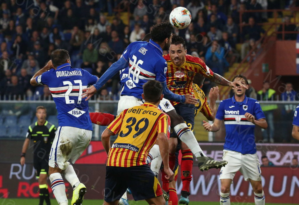 30/10/2019, Genova, Campionato di Calcio di Serie A, Sampdoria-Lecce