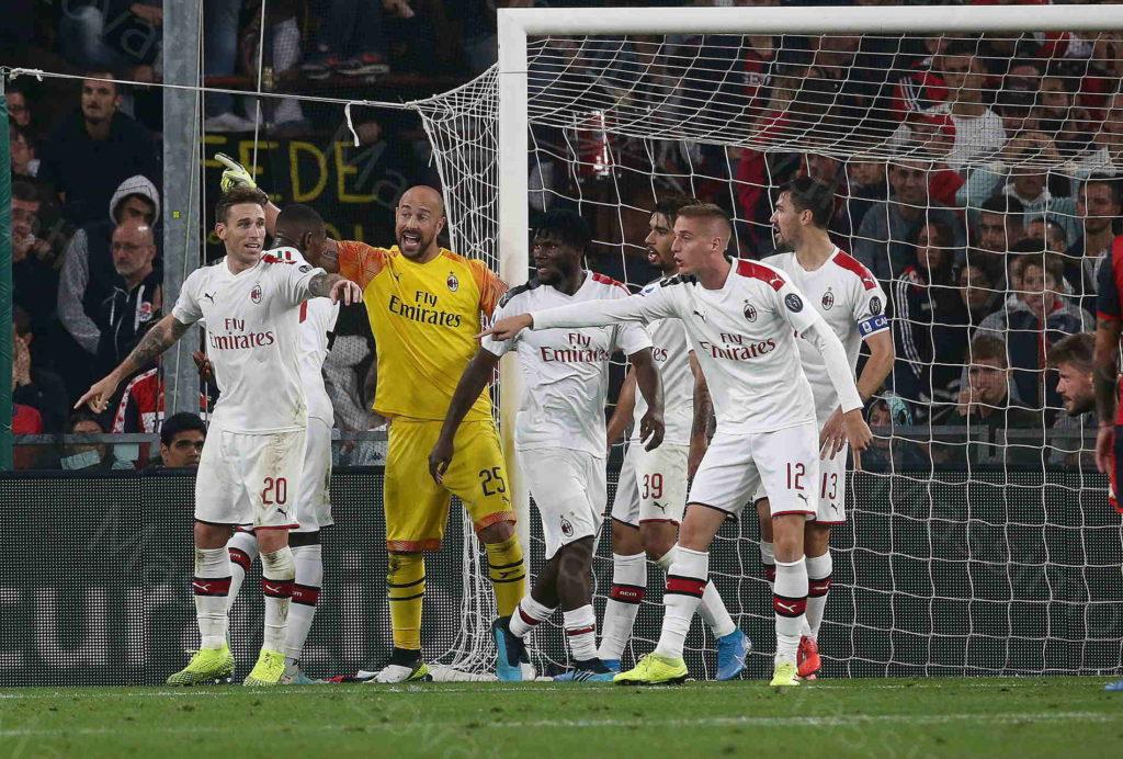 05/10/2019, Genova, Campionato di Calcio di Serie A 2019/20, Genoa-Milan