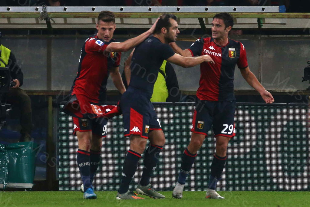 26/10/2019, Genova, Campionato di Calcio di Serie a 2019/20, Genoa-Brescia