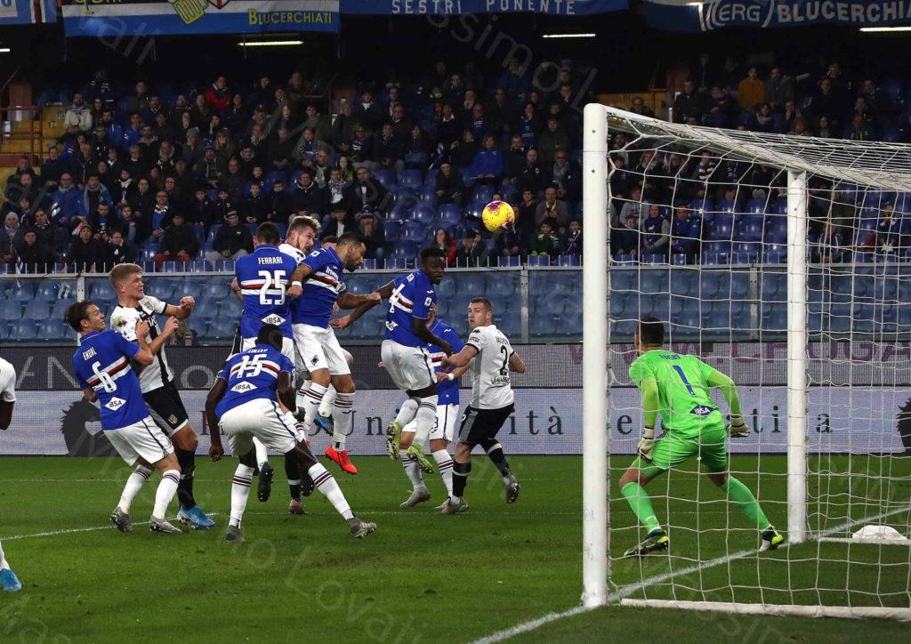 08/12/2019, Genova Campionato di Calcio di Serie A 2019-2020, Sampdoria-Parma