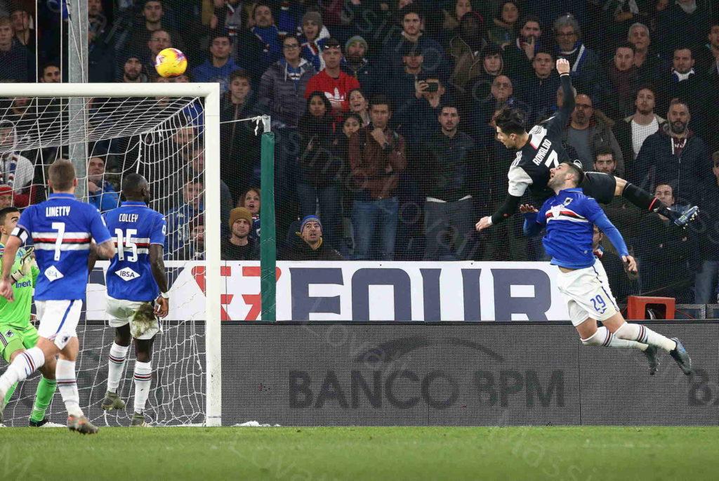 18/12/2018 Genova, Campionato di Calcio di Serie A 2019/20, Sampdoria-Juventus