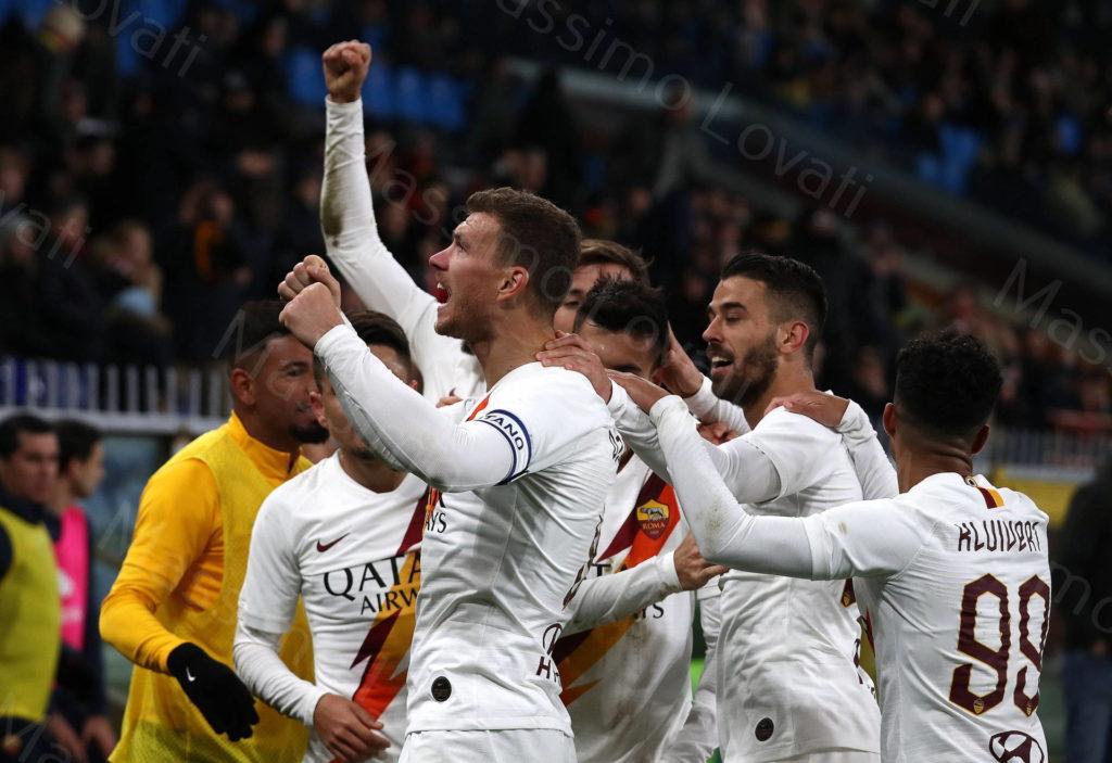 19/01/2020, Genova, Campionato di Calcio di Serie A 2019/20, Genoa-Roma