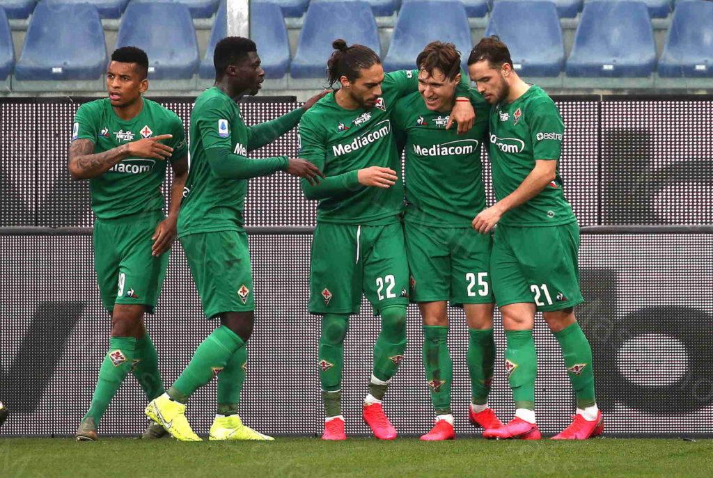 16/02/2020, Genova, Campionato di Calcio di Serie A 2019/2020, Sampdoria-Fiorentina