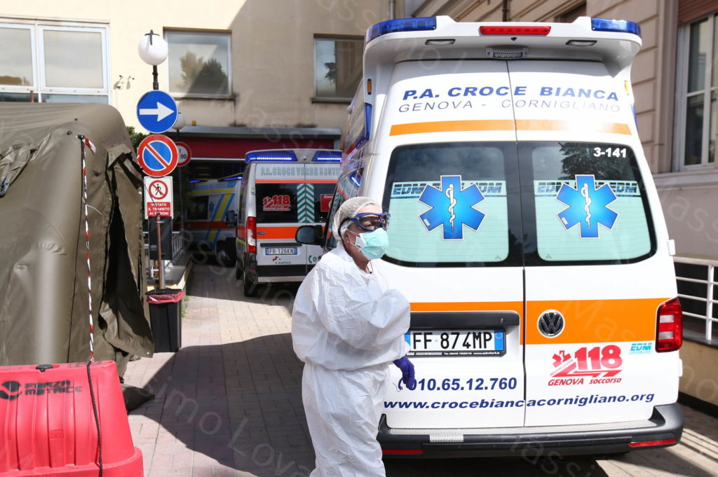 17/03/2020, Gli effetti del Corona Virus a Genova