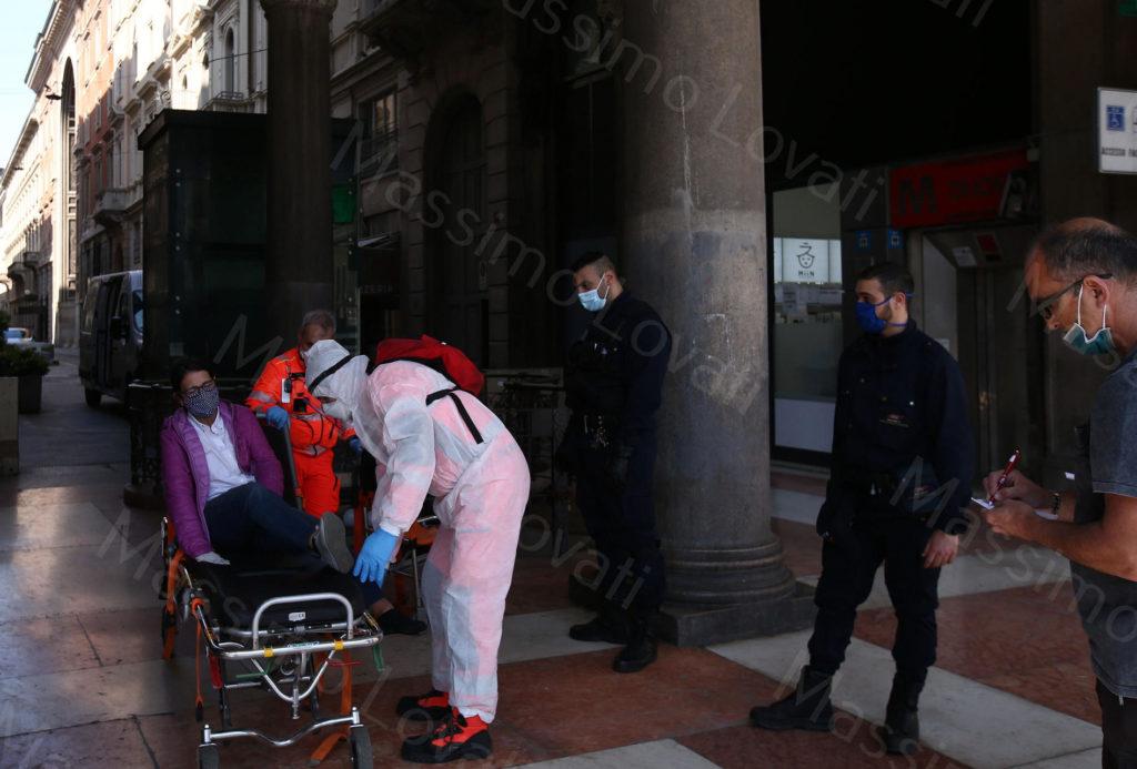 24/04/2020, Effetti del Corona Virus a Milano
