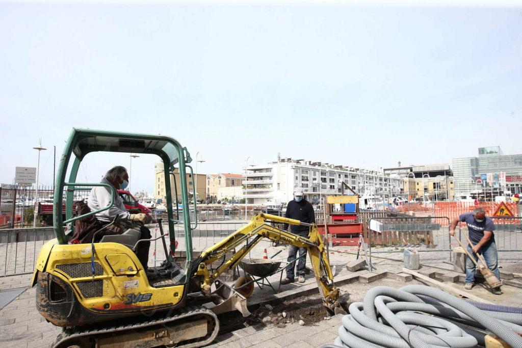 08/04/2020, Genova, Quarto giorno della Fase Due dell'Emergenza Sanitaria in città