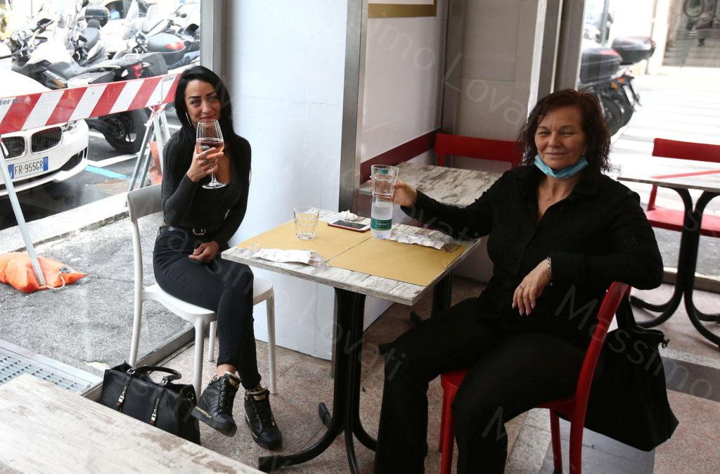 18/05/2020, Genova, Riapertura di Negozi, Ristoranti, Bar