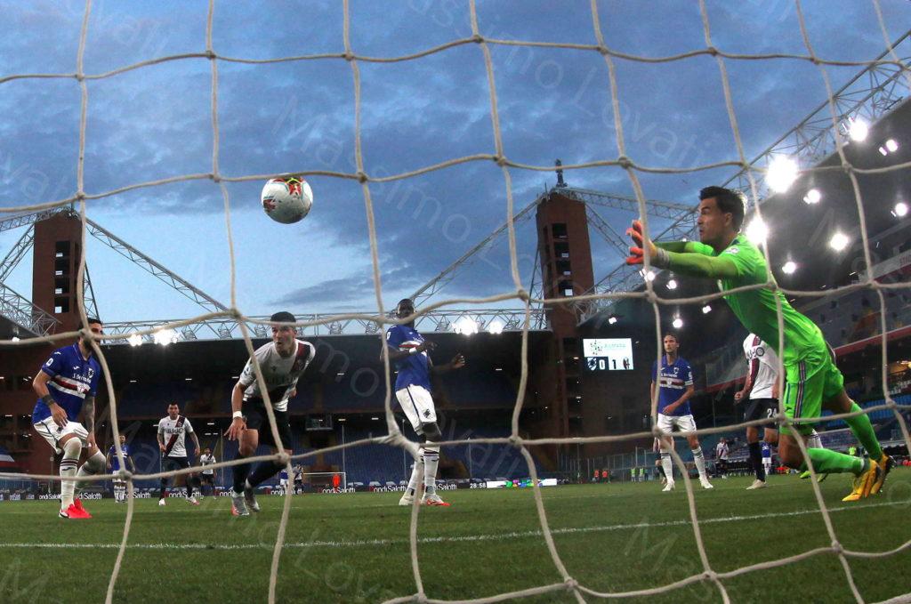 28/06/2020, Genova, Campionato di Calcio di Serie A 2019/2020, Sampdoria-Bologna