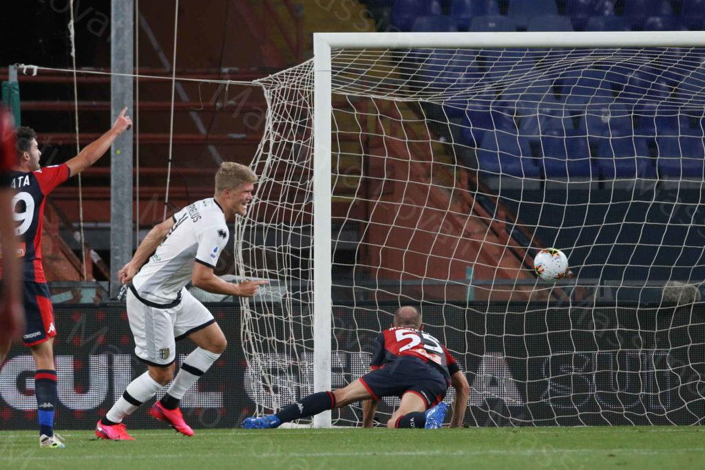 23/06/2020, Genova, Campionato di Calcio di Serie A 2019/2020, Genoa-Parma