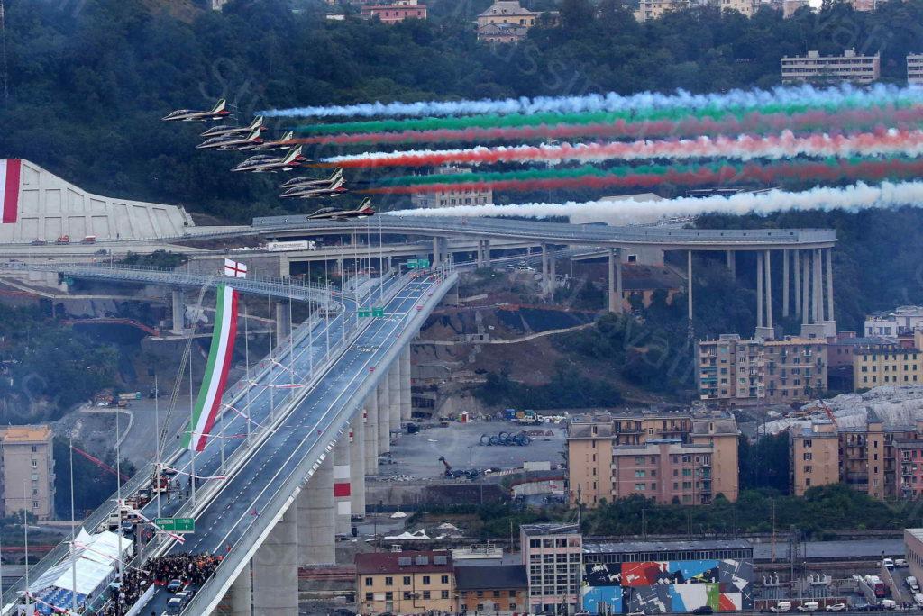 03/08/2020, Genova, Inaugurazione del ponte Genova San Giorgio