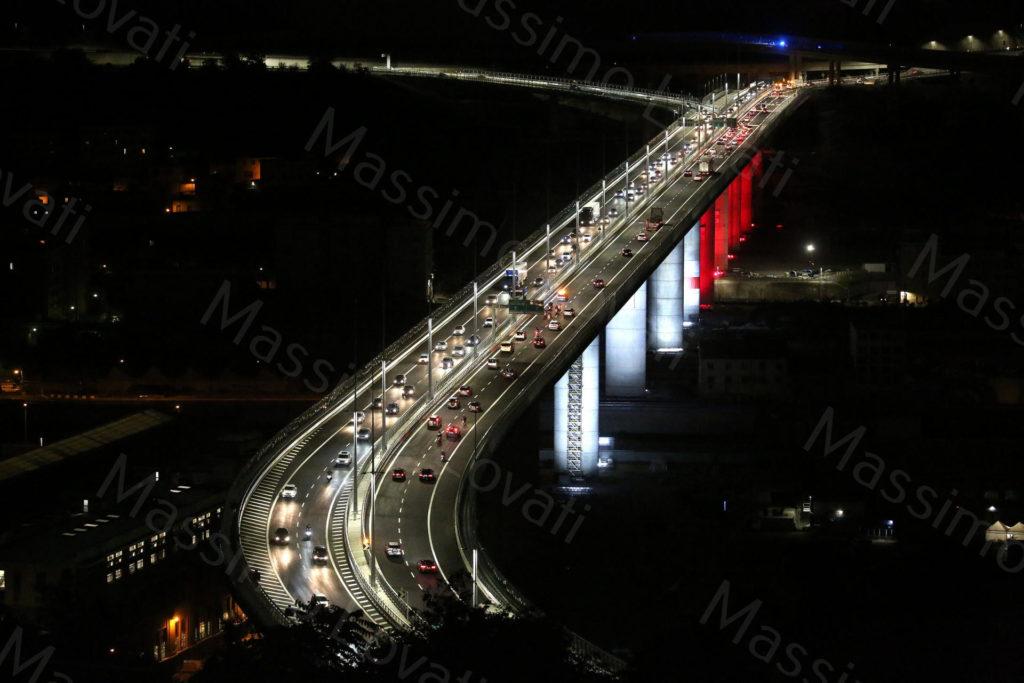 04/08/2020, Genova, Apertura al traffico veicolare del Ponte Genova San Giorgio