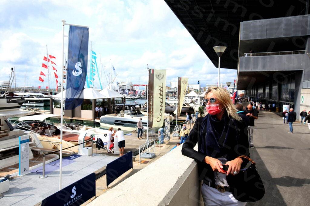 01/10/2020,Genova, Fiera del Mare, Inaugurazione 60esimo Salone Nautico