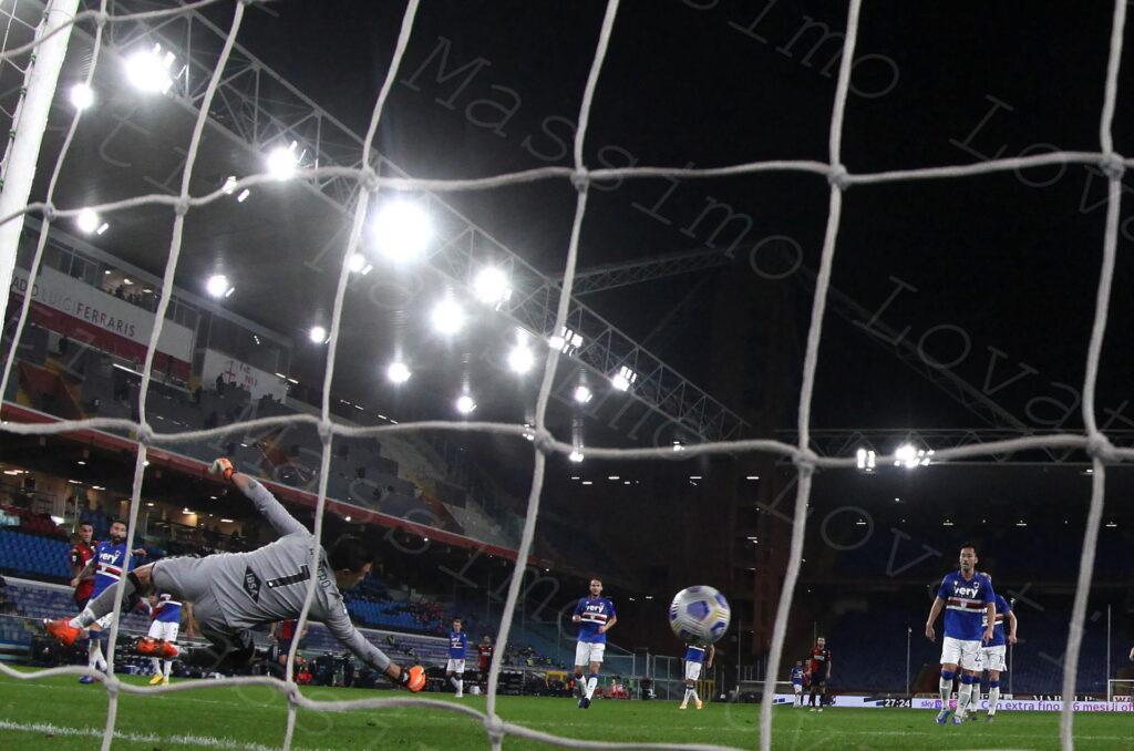 01/11/2020, Genova, Campionato di Calcio di Serie A 2020/2021, Sampdoria-Genoa