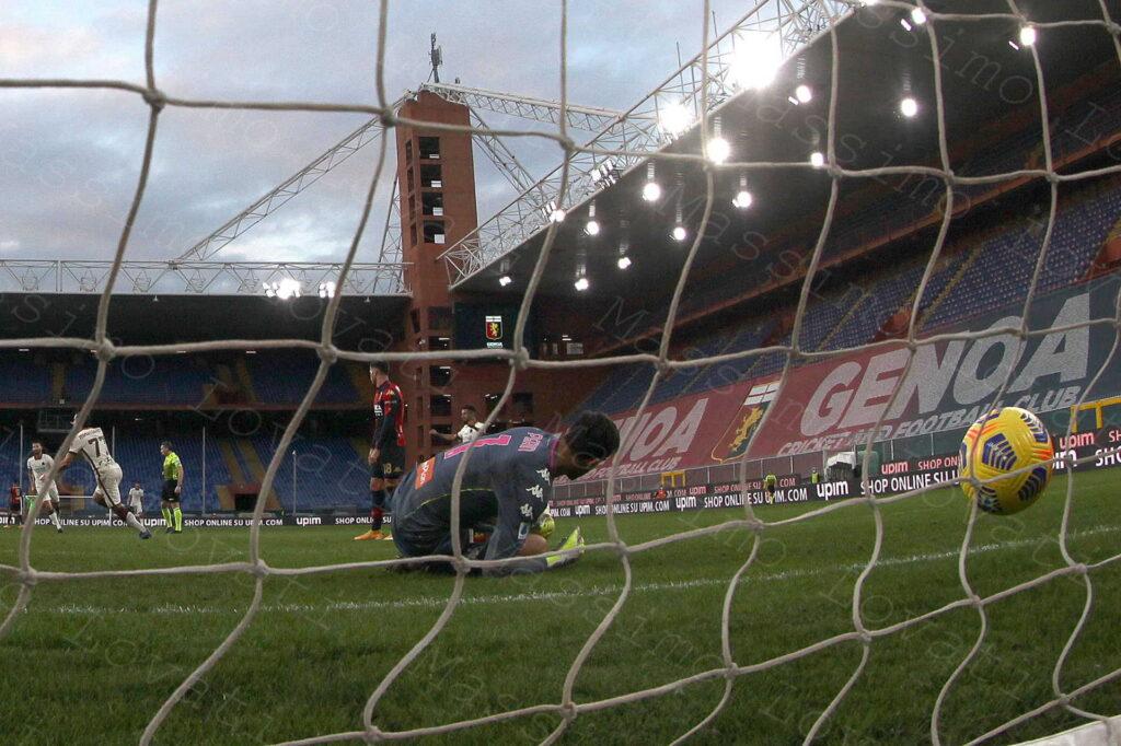 08/11/2020, Genova, Campionato di Calcio di Serie A 2020/2021, Genoa-Roma
