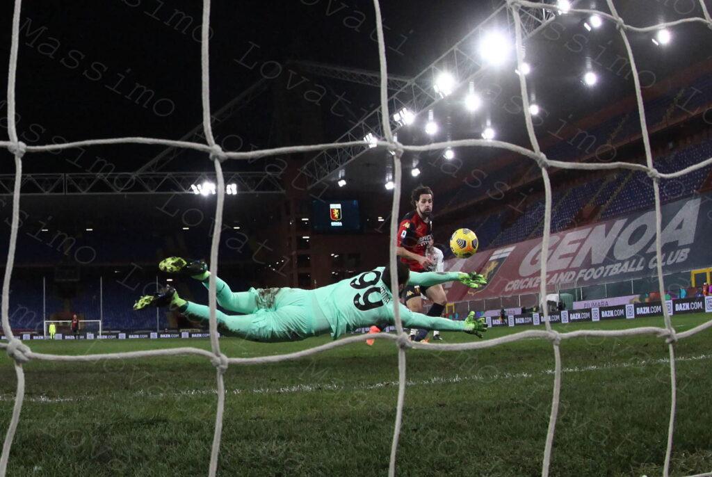 16/12/2020, Genova, Campionato di Calcio di Serie A 2020/2021, Genoa-Milan