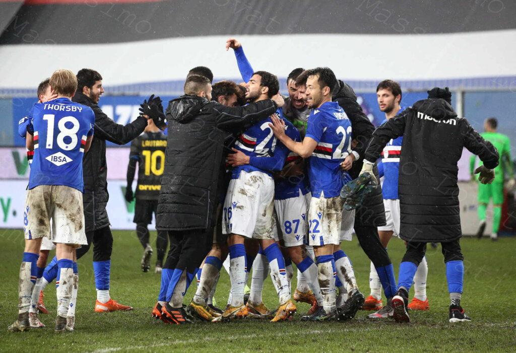 06/01/2021, Genova, Campionato di Calcio di Serie A 2020/2021, Sampdoria-Inter