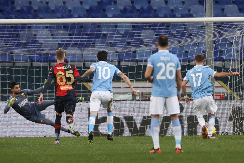 03/01/2021, Genova, Campionato di Calcio di Serie A 2020/21, Genoa- Lazio