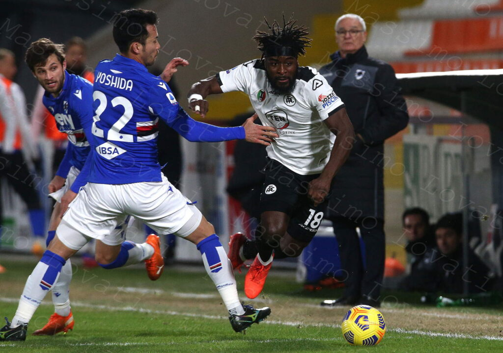 11/01/2021, La Spezia, Campionato di Calcio di Serie A 2020/2021, Spezia-Sampdoria