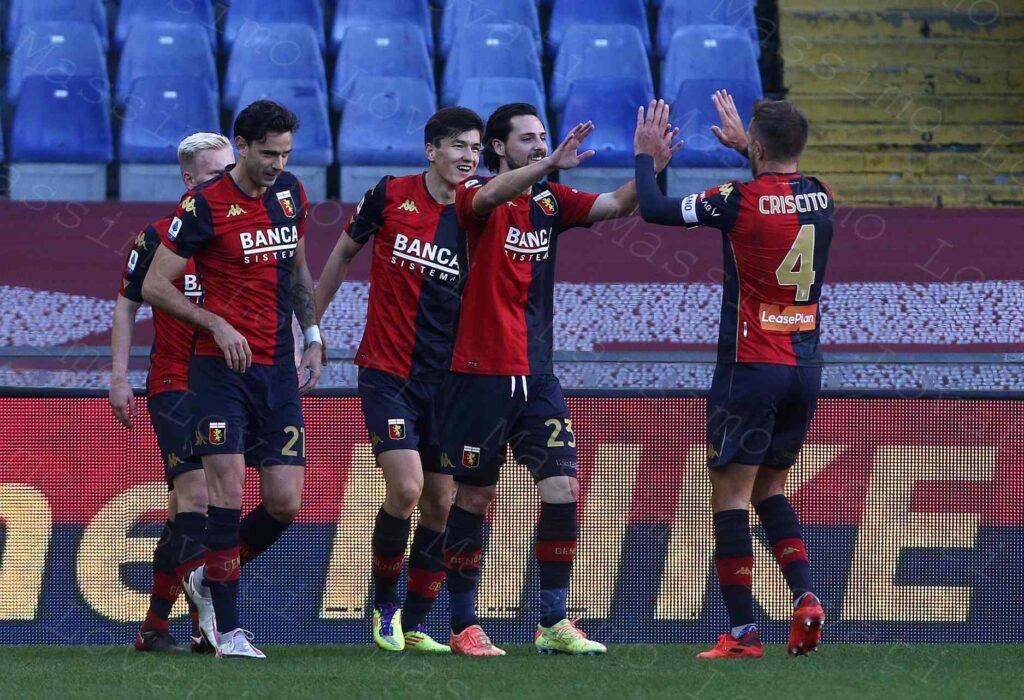 24/01/2021, Genova, Campionato di calcio di Serie A 2020/2021, Genoa-Cagliari
