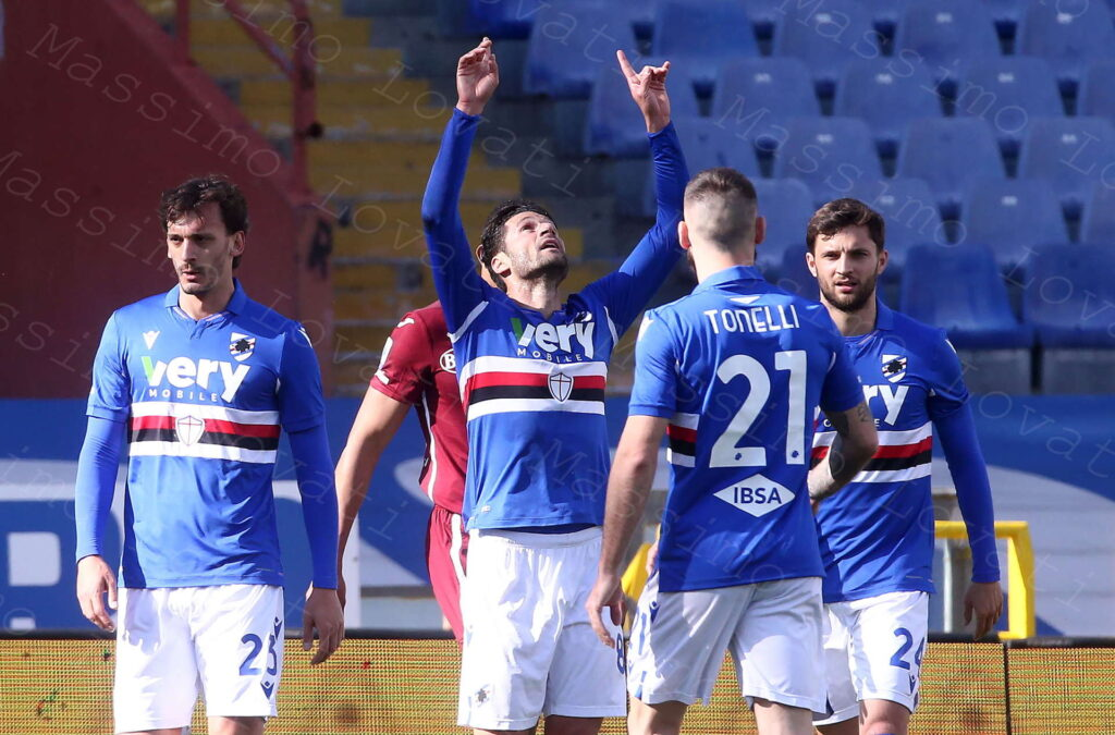 21/03/2021, Genova, Campionato di Calcio di Serie A 2020/2021, Sampdoria-Torino