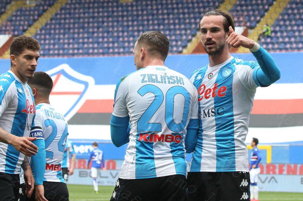 11/04/2021, Genova, Campionato di Calcio di Serie A 2020/2021, Sampdoria-Napoli