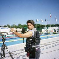 1994 Riccione Campionati Italiani Assoluti di Nuoto, con Canon 1200mm f 5,6