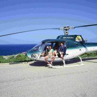 1989, Porto Cervo a seguire la gara di Off Shore dall'elicottero