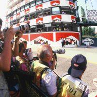 1 maggio 1994 Gran Premio di San marino , autodromo di mola aspettando il Podio dopo il tragico incidente di Senna