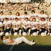 1985 Busto Arsizio foto al team femminile di Football Americano delle Aquile Ferrara
