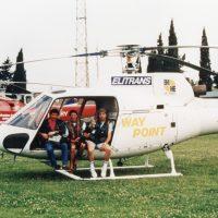 1987 Con Mario Brenna e Cameraman a seguire gara di Offshore
