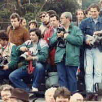 1987 Rapallo premiazione gara Offshore con Carlo Borlenghi e Cattaneo a sx
