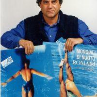 1994 Roma Con 2 dei 7 Poster per i Mondiali FINA di Nuoto