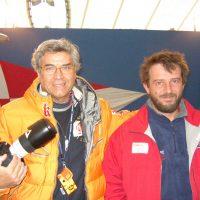 2004 Genova Millevele Telecom Italia con Giovanni Soldini