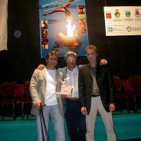 2004 Pontremoli, Premio Bancarella Sport per i libri e la fotografia, premiato con Alessandro Zanardi