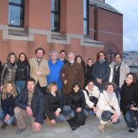 2013 Genova Unige Architettura con i corsisti che hanno partecipato alla mia lezione teorico pratica e ,con il Prof Pinto