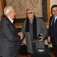 2017 Genova Salone del Comune con Eraldo Pizzo e il Governatore Toti