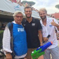 2017 Roma Sette Colli con Massimiliano Rosolino e Greg Paltrinieri