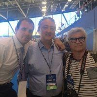 2017 Torino Final Six Waterpolo Men Con Paolo Barelli presidente FIN e Francesco Postiglione